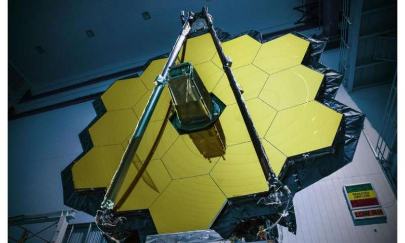 NASA's Webb Telescope completes Goddard testing, heading to Texas for more