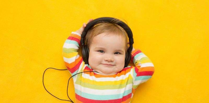 Researchers create a song that makes babies happy