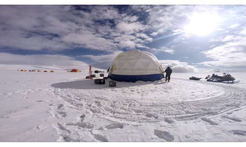 Researchers capture oldest ice core ever drilled outside the polar regions