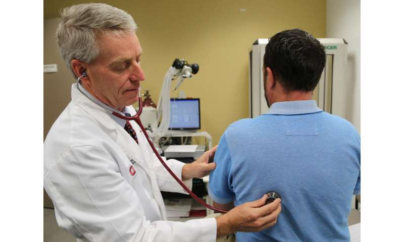 Clinical trial uses nicotine patches to treat chronic lung disease