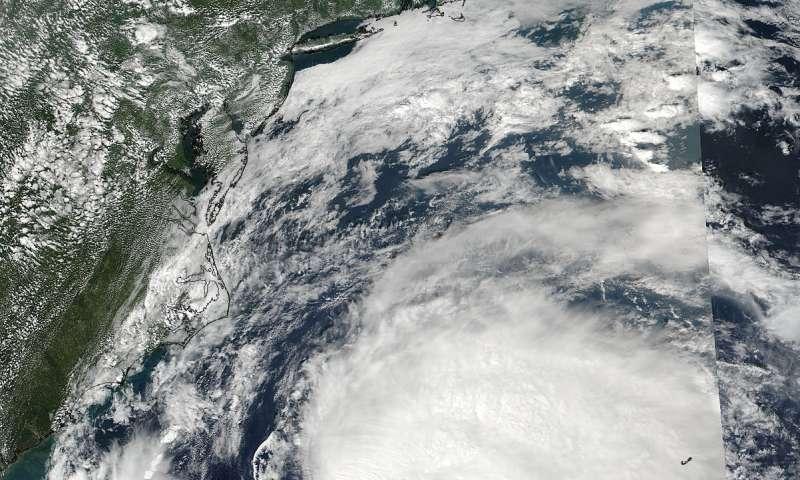 NASA sees Hurricane Jose off the US east coast