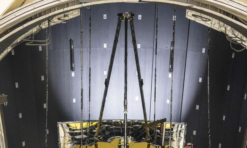 NASA's Webb telescope gets freezing summertime lodging in Houston