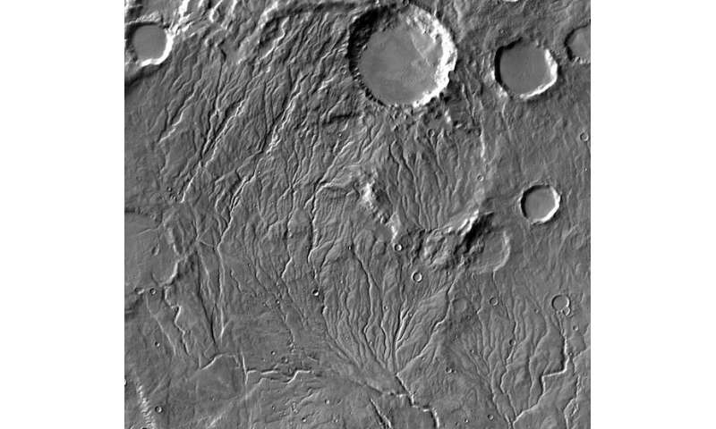 Study shows how water could have flowed on 'cold and icy' ancient Mars