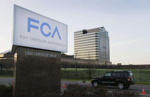 US gov't accuses Fiat Chrysler of cheating on emissions