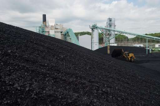"US President Donald Trump, who declared an end to the ""war on coal"", has said he will make a decision on the Paris agr"