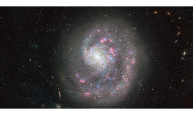 Image: Hubble's cosmic search for a missing arm