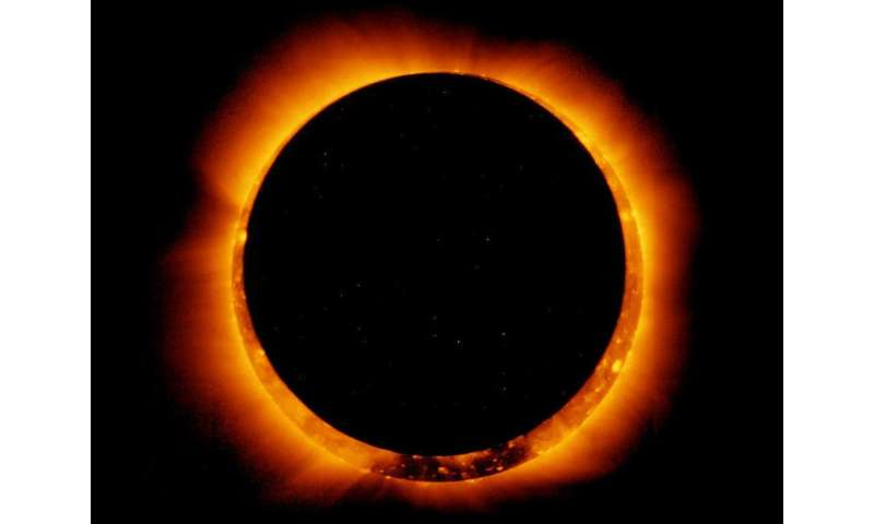 Solar eclipse a chance to study life's resilience