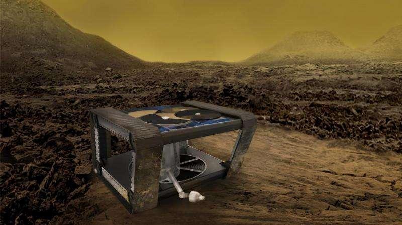 A clockwork rover for venus