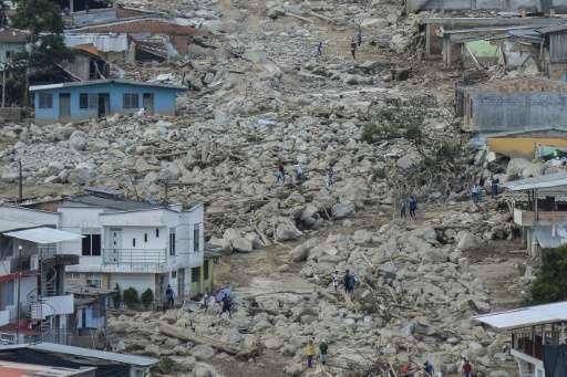 natural disasters in latin america statistics