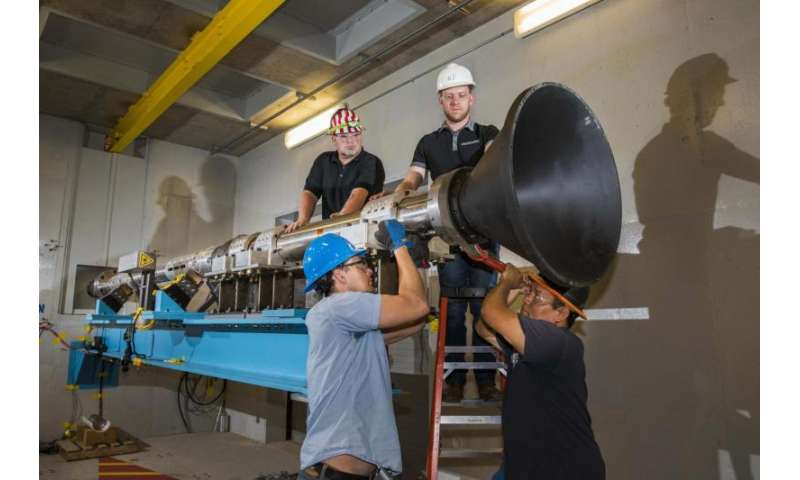 Aerospace test at Sandia goes green with alternative to explosives