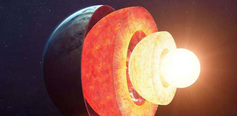 A giant lava lamp inside the Earth might be flipping the planet's magnetic field