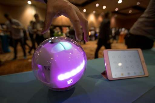 A Laka smart toy and app to benefit special needs children pictured during the 2017 Consumer Electronics Show (CES) in Las Vegas