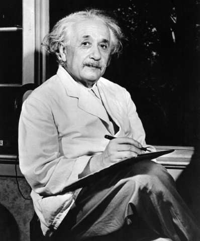 Albert Einstein, who won the Nobel Physics Prize in 1921, said he admired the work of Sigmund Freud but refused to endorse his n