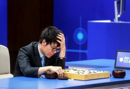 AlphaGo defeated brash 19-year-old world number one Ke Jie of China on Saturday to sweep a three-game series that was closely wa