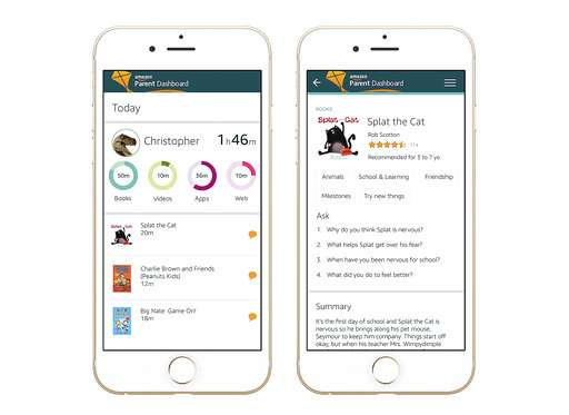 Amazon aims to help parents monitor - and talk to - kids