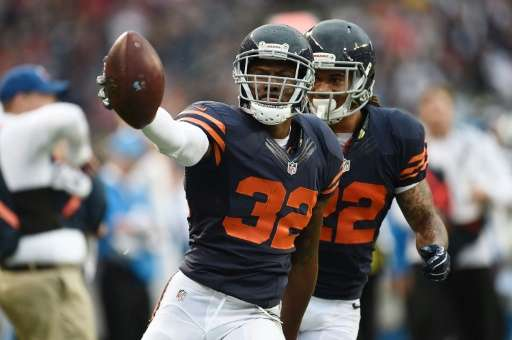 Amazon has won streaming rights for Thursday night NFL games. This 2016 picture shows Deiondre Hall of the Chicago Bears.