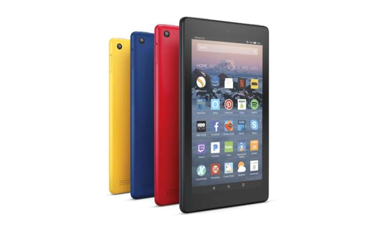 Amazon refreshes lineup of low-cost tablets, new kids model