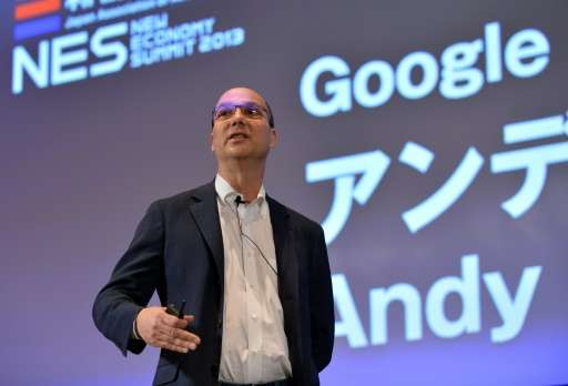 Andy Rubin, pictured at a conference of the New Economy Summit 2013 in Tokyo, says his newly developed Essential smartphone allo