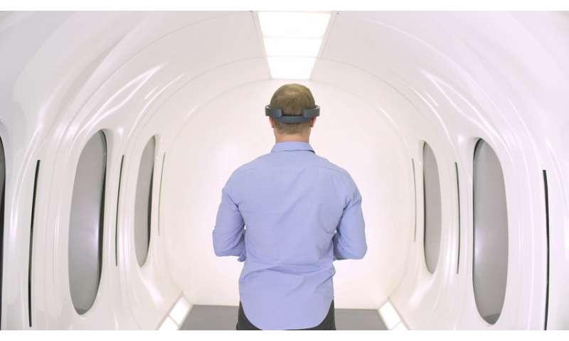 An ooh-la-la Hyperloop capsule is being built, next year's big peek in Toulouse