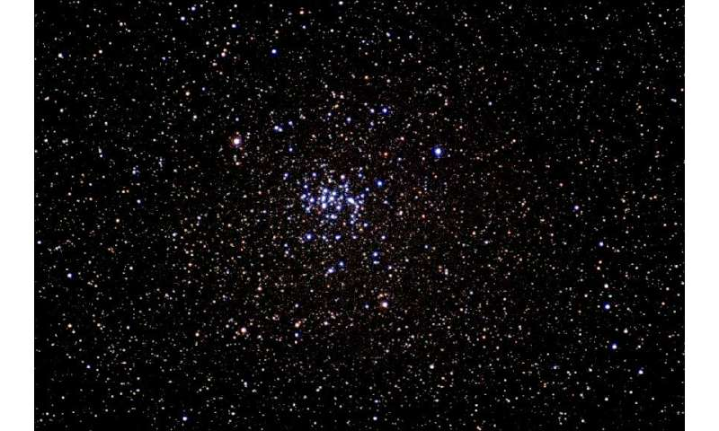 Another bee in the beehive: Astronomers discover binary star in the NGC 2632 cluster