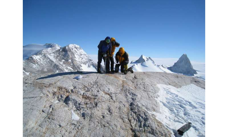 Antarctic study shows central ice sheet is stable since milder times