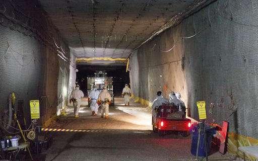 APNewsBreak: Energy boss: Nuke-leak progress but work ahead
