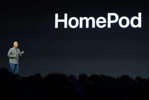 Apple senior vice Phil Schiller speaks during the Apple Worldwide Developer Conference in San Jose, California on June 5