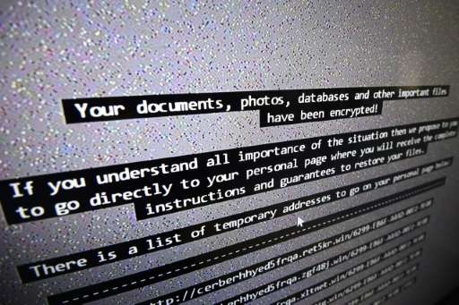 A ransomware demand after one's computer or other connected object has been hacked might look like this