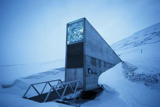 Arctic 'doomsday' seed vault receives 50,000 new deposits