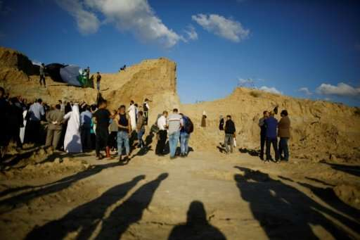 A recent attempt to build over the ancient mound at Tell es-Sakan was the third time the site has been threatened by bulldozers