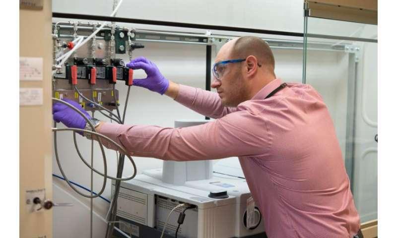 Argonne scientists make vanadium into a useful catalyst for hydrogenation