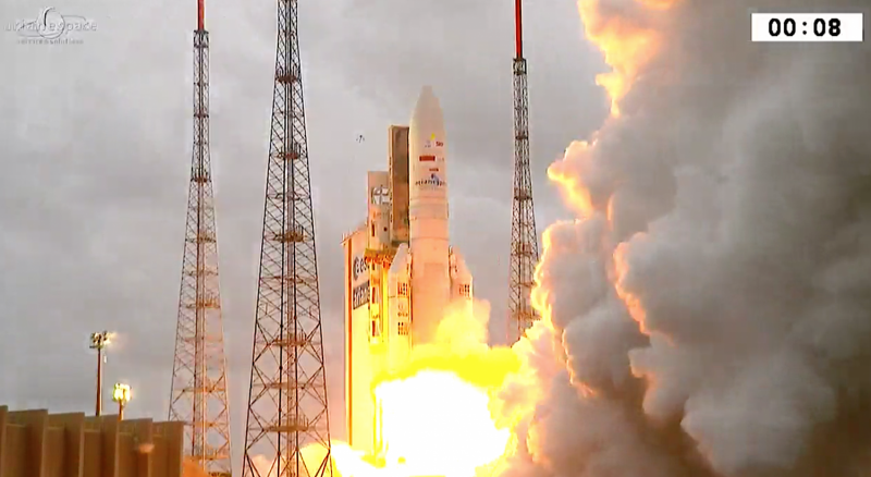 Ariane 5's first launch this year