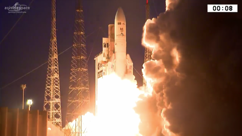 Ariane 5's second liftoff this year