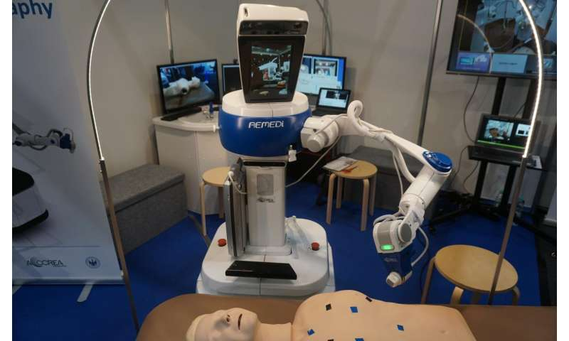 A robotic doctor is gearing up for action