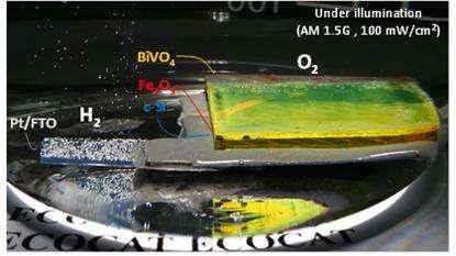 Artificial leaf goes more efficient for hydrogen generation