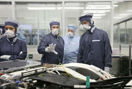 ASML is considered a bellwether of the global high-tech industry as it supplies manufacturing giants such as Samsung and Intel