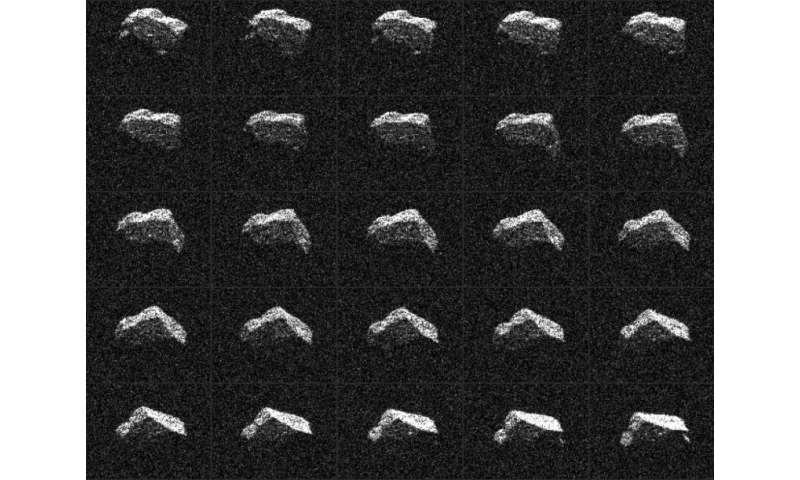 Asteroid resembles Dungeons and Dragons dice