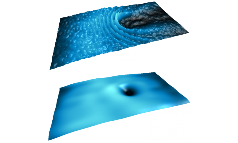 A stream of superfluid light