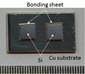 A technology for pressureless sinter joining for next-generation power semiconductors