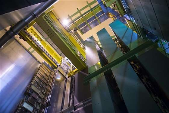 A very special run for the LHCb experiment