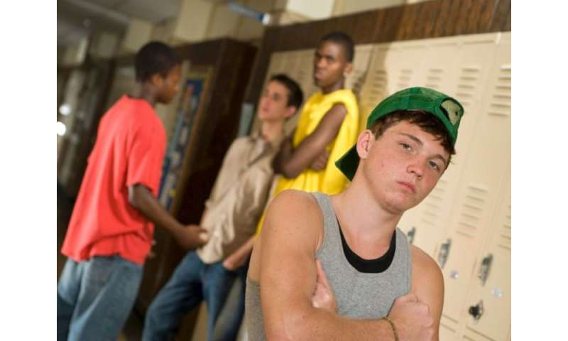 A violent environment can wreck kids' grades