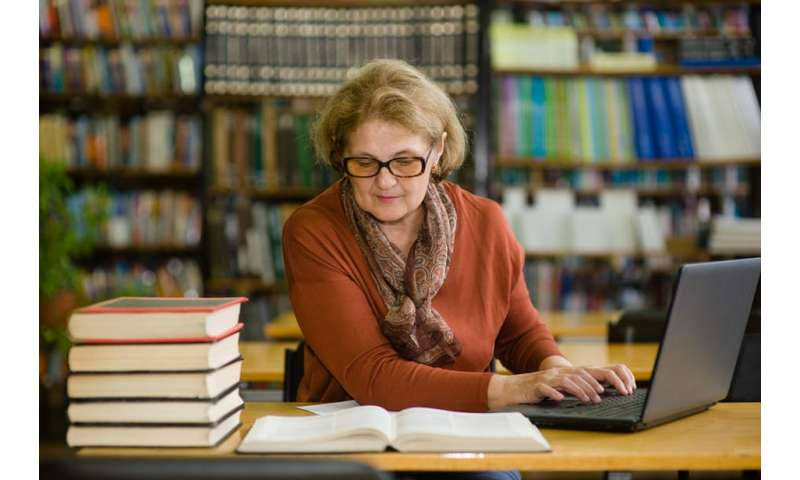 Baby boomer women make up for lost study time and head back to university