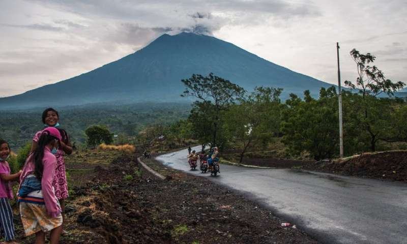 Bali's Agung – using 'volcano forensics' to map the past, and predict the future