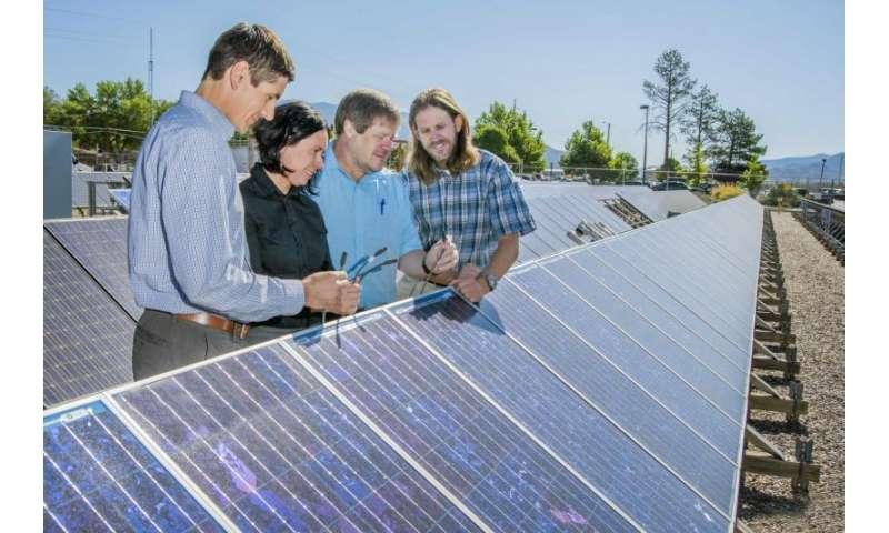 Battling corrosion to keep solar panels humming
