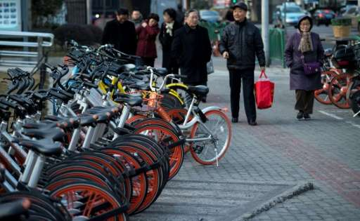 Bike-share concept has attracted huge venture capital in China as fledgling firms wrestle for market share
