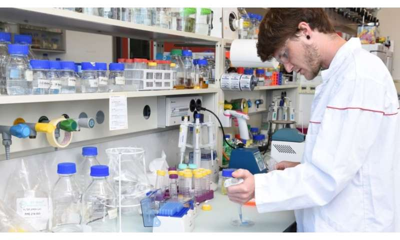 Biosensor for heavy metals