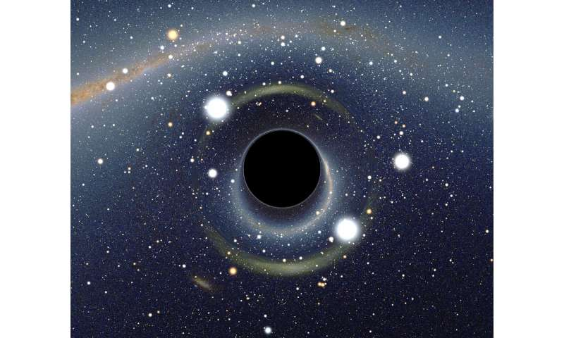 Black holes, curved spacetime and quantum computing