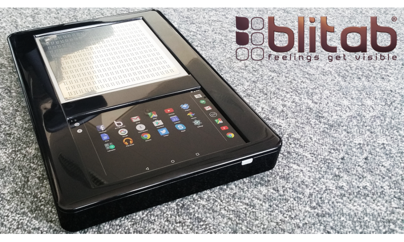 Blitab Technology develops tablet for the blind and visually impaired