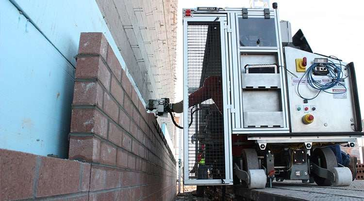 Bricklaying robot can make ergonomic, economic impact on construction sites