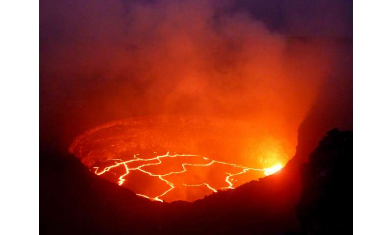 'Bulges' in volcanoes could be used to predict eruptions